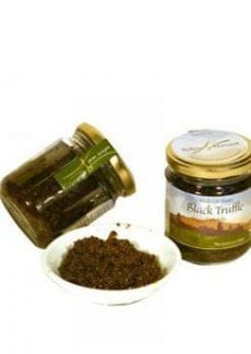 jar of black truffle