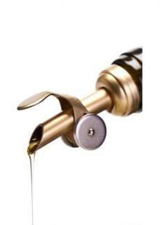 gold olive oil pour spout
