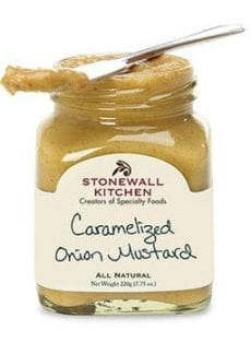 jar of onion mustard