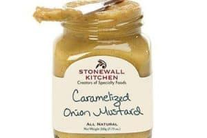 jar of onion mustard