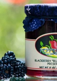 Blackberry Buzz jam