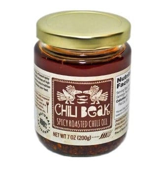 jar of chili beak