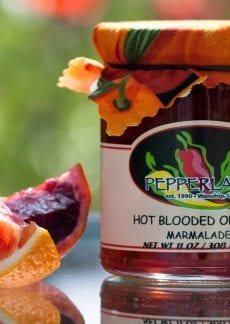 Hot Blood Orange jam