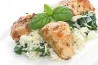 Lemon basil chicke