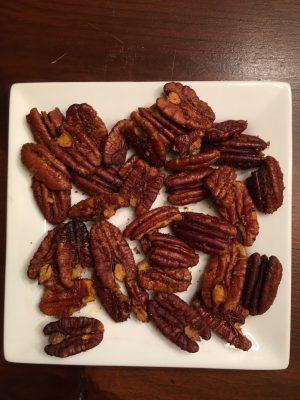 Spicy pecans