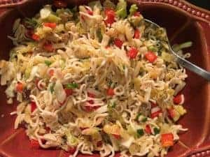 Noodle & Cabbage salad